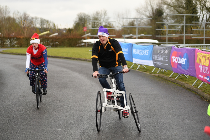 Overtaking Paralympian Megan Giglia MBE